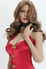 Phicen kitbash (kengofett) Tags: phicen hottoys scarlet witch superduck 16 female figure kitbash