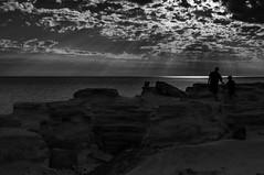 Gantheaume Point  abstract (Richard Mart1n) Tags: broome kimberleys australia western westeraustralia abstract black white blackandwhite monochrome awesome sea beach rocks landscape nikon d5000