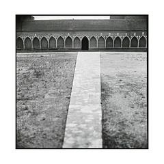 cloister  perpignan, catalunya  2016 (lem's) Tags: cloitre cimetiere cloister cemetery campo santo perpignan catalogna catalunya zenza bronica s2