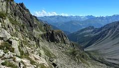 Val d'Arpette (bulbocode909) Tags: valais suisse valdarpette montagnes nature paysages nuages bleu vert