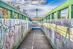 A bridge (miroslav.tokarsky) Tags: pentax pentaxart bridge clor hdr light urban abandoned color art street magic magicmoment bestshotoftheday lines architecture landscape pentax35mm