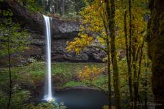 AutumSilverFalls (Jorge97301@gmail.com) Tags: autumn fall waterfalls oregon pnw beautiful stunning farm silver falls state parks forest creek stream water pool lake rocks dog portland silverton salem