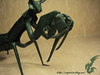 Praying Mantis (Rydos) Tags: kamiya satoshi praying mantis kamiyasatoshi prayingmantis paper origami art hanji koreanpaper korean green paperfold fold folding paperfolding insect bug