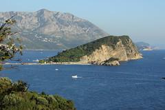 Sveti Nikola Island, Budva (nikolaylozanov8006) Tags: outdoor bluff ridge landscape cliff sea mountain budva crna gora montenegro adriatic island water