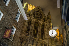 IMG_2041 (photopod) Tags: york england uk yorkshire night clock unitedkingdom