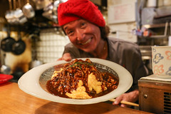IMG_1033 (Jeff Amador) Tags: kyoto japan pontocho kichikichi kichi omurice omelette food