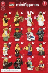 Collectible Minifigures Series 07 (AB Quest) Tags: lego collectible minifigures