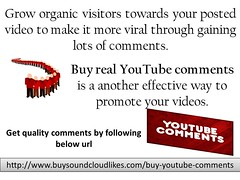 Buy YouTube Comments (sandraanderson5) Tags: get youtube comments