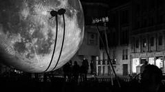 InOMN (anagarcica96) Tags: inomn blackandwhite moon luna internationalobservethemoonnight nikon salamanca asociacinuniversitariasupernova electra spain apolloxi performance