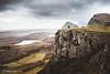 Highland biker (Steffen Walther) Tags: 2016 reise schottland scotland uk highlands skye quiraing rock biker mountainbike lake trotternish green travel landscape britain canon5dmarkiii canon1740l reisefotolust downhill