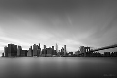 Silence (Samuele Evolvi) Tags: evolvi fotografia photo samuele newyork dumbo brooklyn lowermanhattan longexposition long exposure longexposure samuelevolvi samueleevolvibwblackwhitebianco e neroskylinemanhattan skylineskscrapersnycnew york city