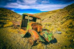 Thankful (KPortin) Tags: truck deathvalleynationalpark rusty rustyandcrusty desert abandoned abandonedtruck htt