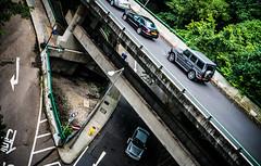 Hong Kong (e.glasov) Tags: hongkong island road future city mercedesbenz gclass lines architecture       mountains sony a6300