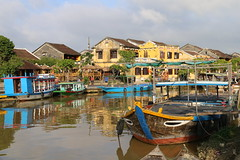 Hoi An riverside (bindubaba) Tags: vietnam hoian river boats unesco worldheritage