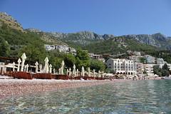 Sveti Stefan, Crna Gora (Montenegro) (Nikolay Lozanov) Tags: outdoor sveti stefan crna gora montenegro water beach mountain coast sea landscape