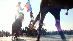 Cavalry Parade (plyushchikhafilm) Tags: equine horse horses equestrian parelli eventing chestnut trot canter