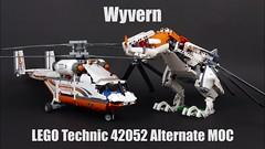 "LEGO Technic Wyvern 42052 (""grohl"") Tags: wyvern dragon 42052 lego technic grohl666 milan reindl alternate alterantive cmodel"