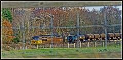 Belmont - Again! (peterdouglas1) Tags: colas railheadtreatmenttrains 56078 belmont northwalescoastrailway grids