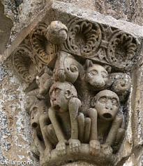 2014-09-04 Silió, San Facundoy San Primitivo, Cantabria, Spain 0 3 (ellapronkraft.) Tags: siliósanfacundoysanprimitivocantabria spain apes artroman middleages moyenage