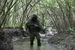 airsoft sniper (TheSwampSniper) Tags: airsoft sniper swamp bolt action ballahack marksman replica intervention elite force g28 novritsch owner field ghillie suit hood best dmr high powered spring aeg