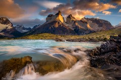 Paine Sunrise (Dan Ballard Photography) Tags: torresdelpaine patagonia chile southamerica sunset photo images gallery pro best