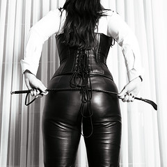 RE08_09_002 (Wolfman PL) Tags: leather femdom ilford hasselblad whip mistress