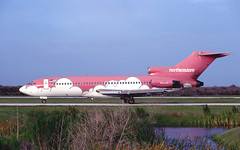 N356QS727 (T.O. Images) Tags: n356qs northeastern airlines boeing 727 clearwater st petersburg pie