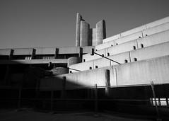 almost pueblo-like in the sun (iMatthew) Tags: brutalism brutalistarchitecture architecture bostonarchitecture boston governmentcenter bw