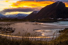 Andenes sunset (Larsenio) Tags: sea seascape seascapes pentax pentaxk5 people pentaxian pentaxianer fa43mm andy andenes arctic norway norge north norvege norwegen nordic northern norsk nordland ocean landscape family beach andya norwegian nordnorsk