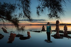 156/365 (Jessie Rose Photography) Tags: sunset dreamscape photomanipulation 365 365project 365challenge chess lake gorokan