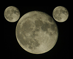Supermoon are you taking the mickey (WISEBUYS21) Tags: supermoon super moon larger brighter orbit satallite mickey mouse walt disney steamboat willy 1928 18th november wisebuys21 space cartoons pluto final frontier star trek wars empire creates two death stars