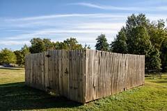 Progress #3 (brev99) Tags: sigma1770os d7100 colorefex fence tulsagardencenter trees topazdetail topazdenoise