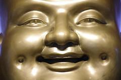 Buddha statue Jing'an Temple (Sallyrango) Tags: shanghai china jingan temple jingantemple buddhisttemple buddhistmonk