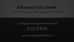 Welcome to Advanced Pain Relief Clinic (advancedpainreliefclinic) Tags: chiropractic chiropractor adjustment spine back hurt pain auto massage physical therapy acupuncture orthotics nutrition doctor sports injury holistic counseling advancedpainreliefclinic chiropracticcare shockwavetherapy lasertherapy drmoonarahemtulla owensound on cambridge kitchenerwaterloo
