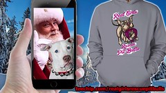 It's a Pit Bull Christmas... (Beverly & Pack) Tags: pitbull pitbulls dog dogs puppy white luna tshirts tees hoodies forsale christmas gifts dogfather dogmother seniors bsl breedspecificlegislation strong americanpitbullterrier breed terrier american bully rescue adopt adoption save staffordshire bull pit lovers rescuers pitbullstrong realgirls playwithdolls love