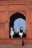 minara Pakistan (Opa Jaap) Tags: pakistan mosque lahore