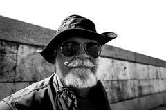 Rome, Italy 2016 (Lucio Frabotta) Tags: leicaq bw people leica persone roma rome travel street streetphotography streetlife italia italy potrait photography blancoynegro summilux biancoenero monochrome noiretblanc monocromo monocrome mono man ngc mustache blackandwhite lazio 28mm