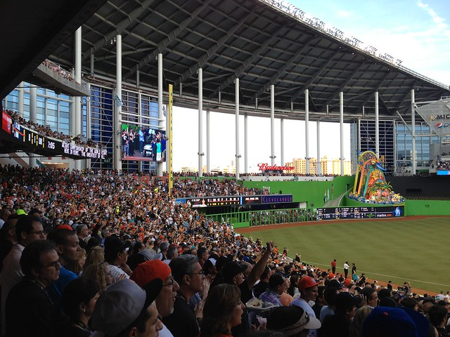 Opening Night - Marlins Park (5)