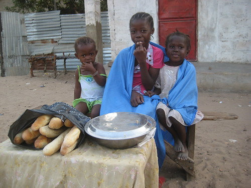 Street food in Gambia
