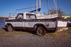 F150, Bell Haven, 2012 (Andrew-Benson) Tags: ford alexandria vintage virginia pickuptruck f150 bellhavenmarina