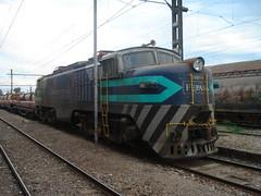 Paciente... (daniel_01986) Tags: tren estacion eeg breda cobre locomotora rancagua electrica e32 carga fepasa e3234