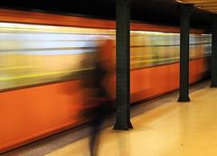 ghosts (palinta) Tags: subway town long exposure metro ghost budapest tube ter vörösmarty palinta