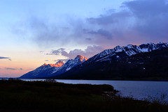Tetons sunset 2 (papajoesm) Tags: sunset nationalpark wyoming grandtetons