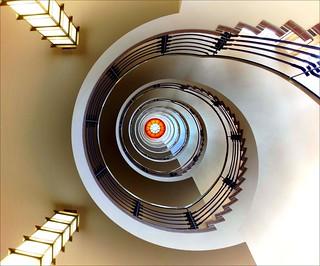 Hamburg stairs III