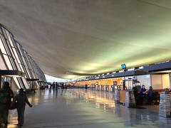 Day 125 curvy ceiling (Dragon Weaver) Tags: airport dulles iad may lobby checkin 0505 2013