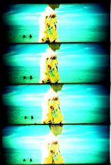 Reunion (GIDESIGN) Tags: ocean france film beach seaside lomo lomography supersampler cross indian slide processed