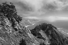 (Dave_B_) Tags: california ca sea blackandwhite nature water america blackwhite cal pointreyes