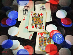 Playing A Good Hand (JDNEDream) Tags: cards nikon poker luck lucky win plenty winning goodluck fortunate nikoncoolpix goodhand nikonp510 nikoncoolpixp510