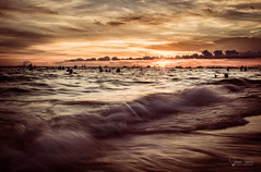 Turbulent sunset.... (peterjaena) Tags: olympus f28 omd 17mm em5 mzuiko