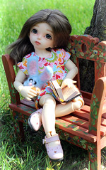 Little dreamer (Safray) Tags: rachel bjd fairyland littlefee
